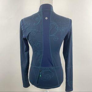Lululemon Swim Surf Shirt Long Sleeve Blue 6